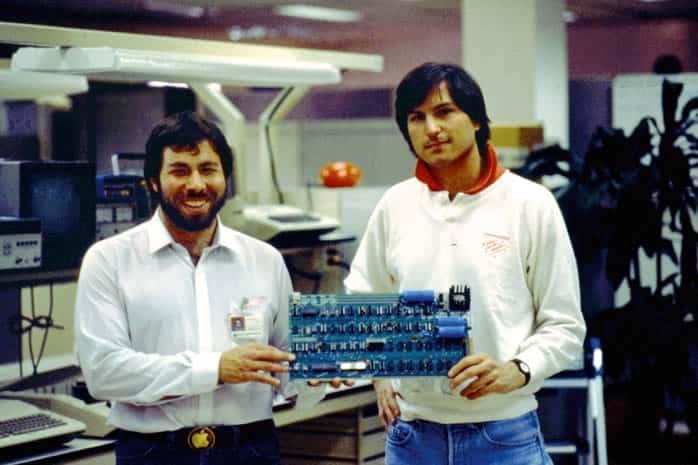 Steve Jobs y Steve Wozniak