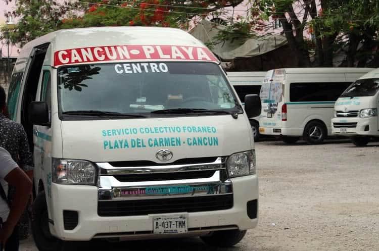 Transportarse en Colectivo por Cancún